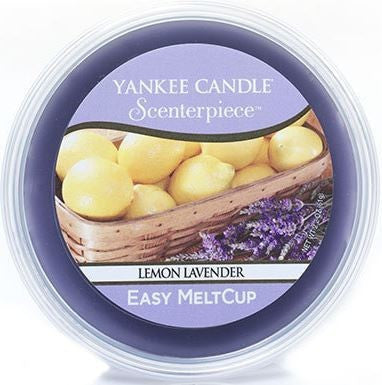 Yankee Candle Lemon Lavender Scenterpiece Easy Wax MeltCup