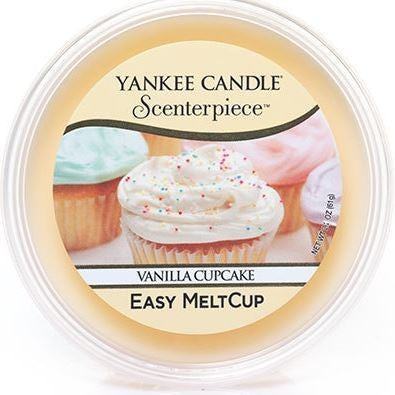 Yankee Candle Vanilla Cupcake Scenterpiece Easy Wax MeltCup