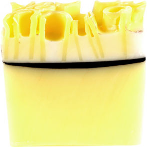 Bomb Cosmetics Lemon Meringue Soap Slice