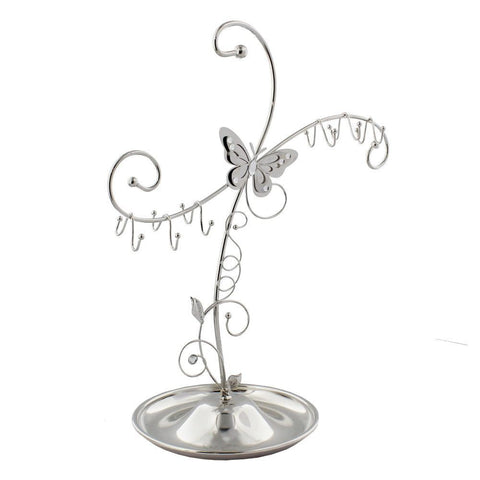 Sophia Silver Butterfly Collection Jewellery Hanger