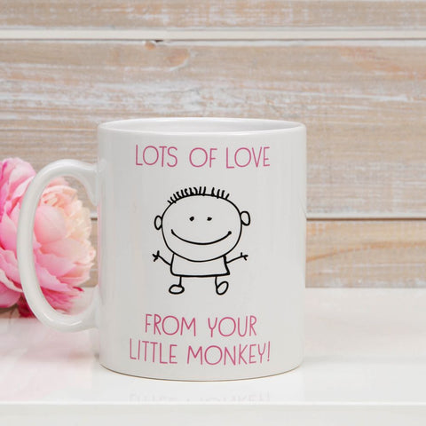 The Worlds Best Mummy Mug From Your Little Monkey