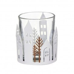 Yankee Candle Winter Village Votive Holder Metal