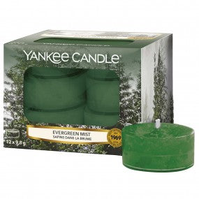 Yankee Candle Evergreen Mist Tealights