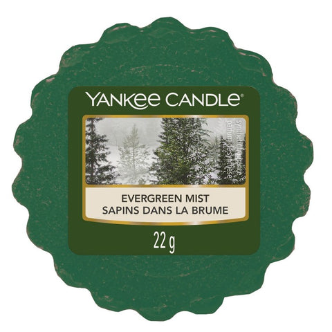 Yankee Candle Evergreen Mist Wax Melt