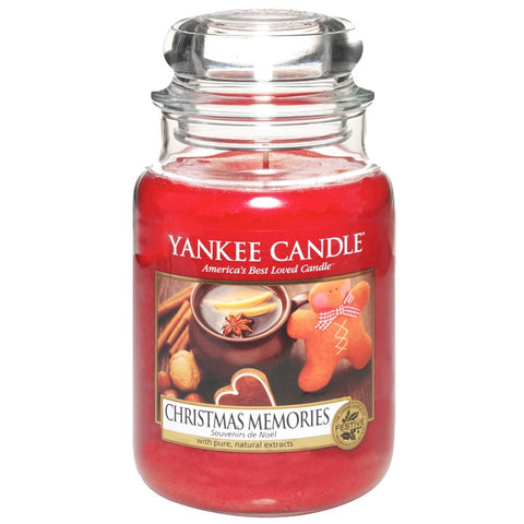 Yankee Candle Christmas Memories House Warmer Jar