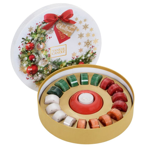 Yankee Candle 18 Tealight Wreath Gift Set