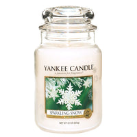 Yankee Candle Sparkling Snow House Warmer Jars