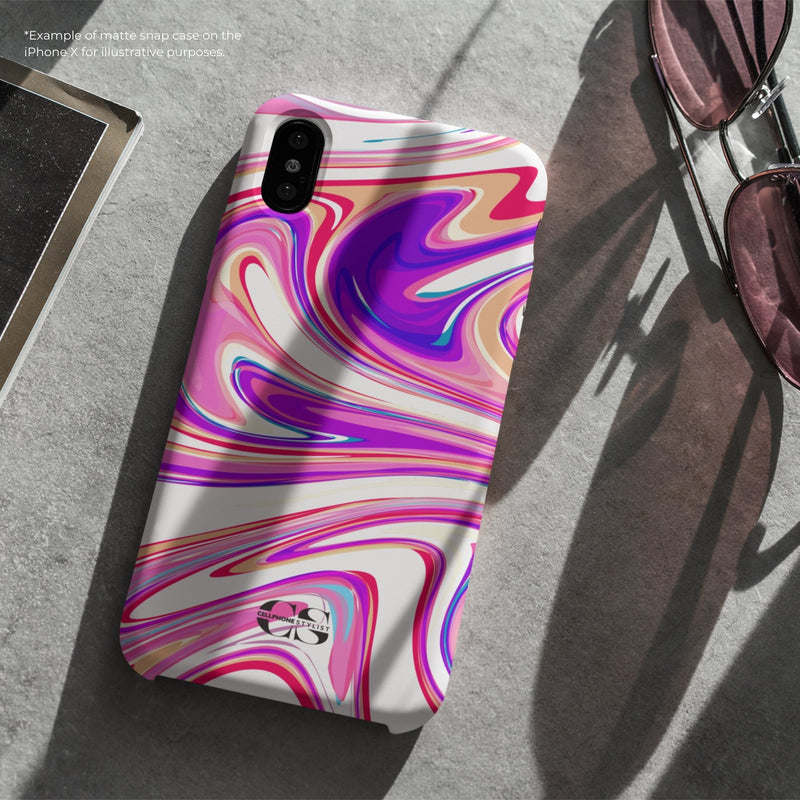 Candy Swirl - Pink (Galaxy) - Phone Case - Cellphone Stylist