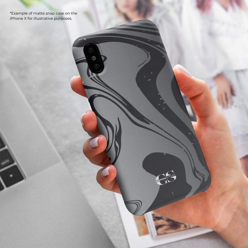 Feel My 80s Party Vibe - Black/Grey (Galaxy) - Phone Case - Cellphone Stylist