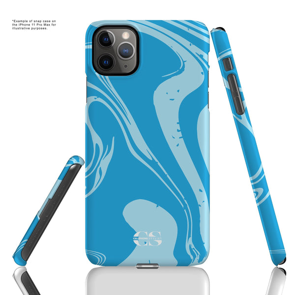 Feel My 80s Party Vibe - Blue (iPhone) - Phone Case - Cellphone Stylist