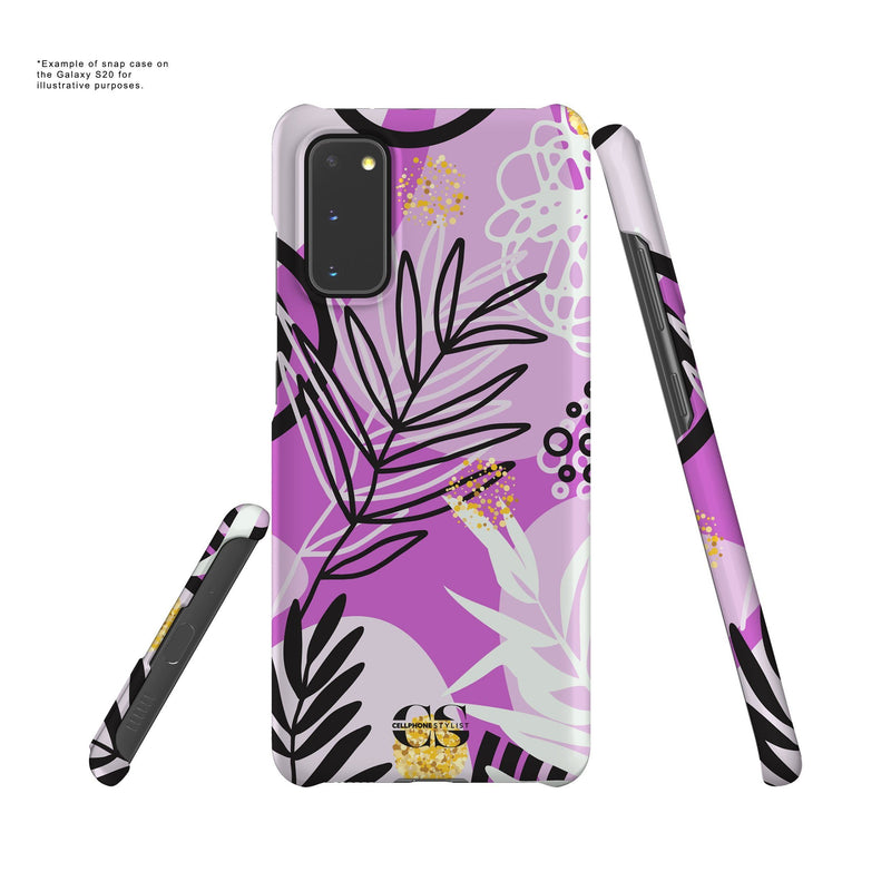 Floral Disco - Purple (Galaxy) - Phone Case - Cellphone Stylist