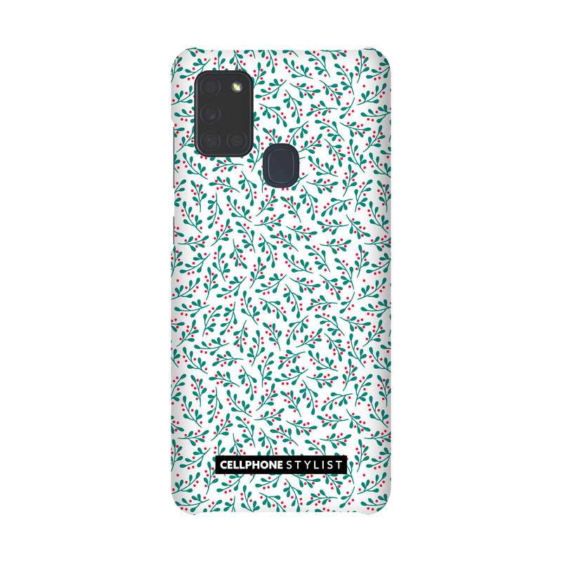 Got Mistletoe? (Galaxy) - Phone Case Galaxy A21S 4G Snap Matte - Cellphone Stylist