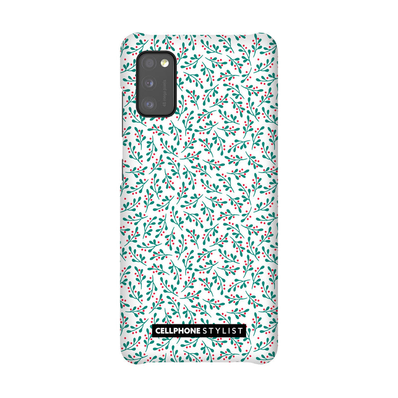Got Mistletoe? (Galaxy) - Phone Case Galaxy A41 4G Snap Matte - Cellphone Stylist