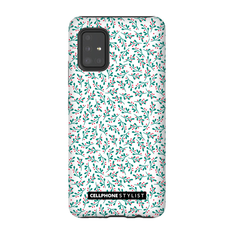 Got Mistletoe? (Galaxy) - Phone Case Galaxy A51 5G Tough Matte - Cellphone Stylist