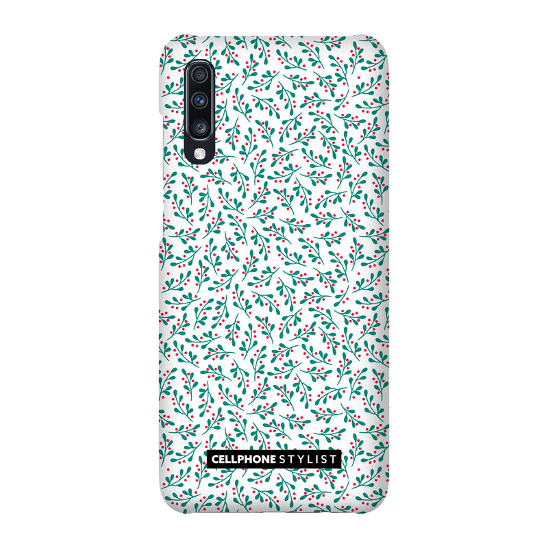 Got Mistletoe? (Galaxy) - Phone Case Galaxy A70 Snap Matte - Cellphone Stylist