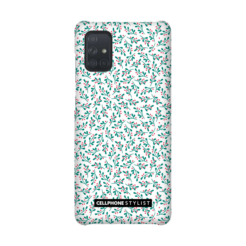 Got Mistletoe? (Galaxy) - Phone Case Galaxy A71 4G Snap Matte - Cellphone Stylist