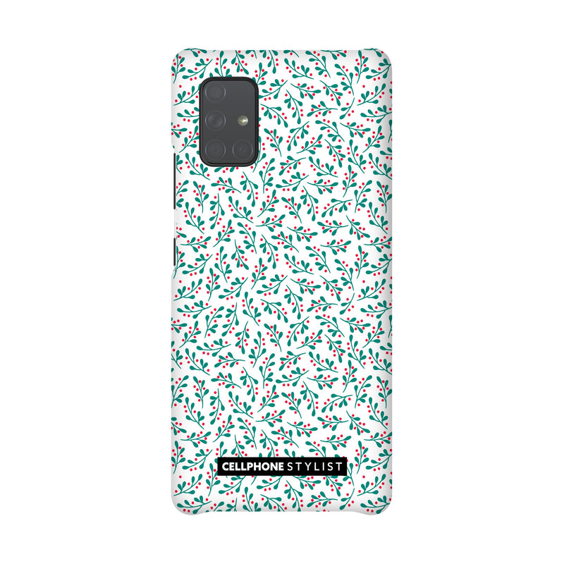 Got Mistletoe? (Galaxy) - Phone Case Galaxy A71 5G Snap Matte - Cellphone Stylist