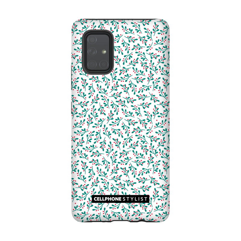 Got Mistletoe? (Galaxy) - Phone Case Galaxy A71 5G Tough Matte - Cellphone Stylist