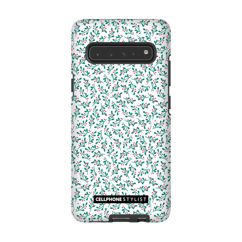 Got Mistletoe? (Galaxy) - Phone Case Galaxy S10 5G Tough Matte - Cellphone Stylist