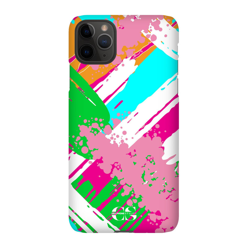 Graffiti Vibes - Bright (iPhone) - Phone Case iPhone 11 Pro Max Snap Gloss - Cellphone Stylist