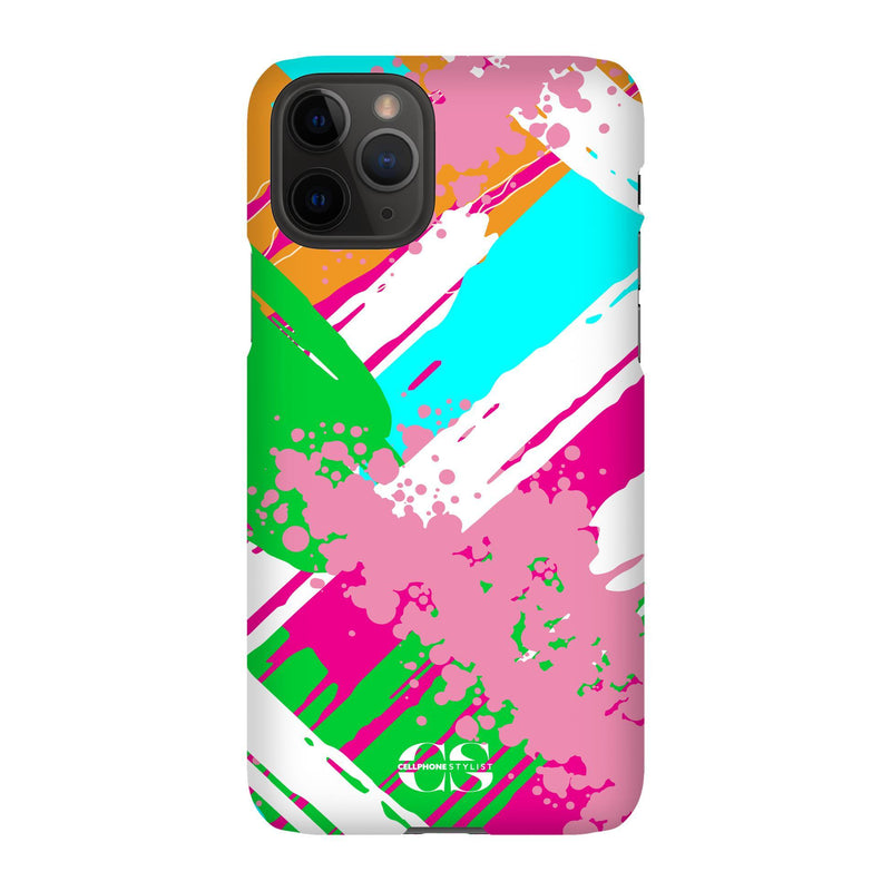Graffiti Vibes - Bright (iPhone) - Phone Case iPhone 11 Pro Snap Matte - Cellphone Stylist