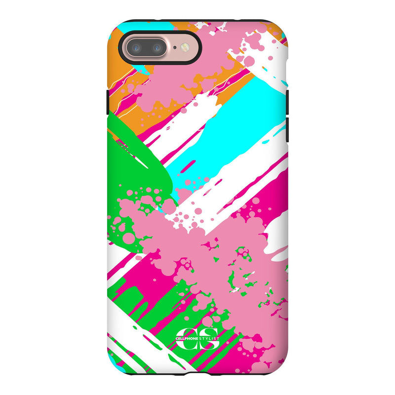Graffiti Vibes - Bright (iPhone) - Phone Case iPhone 7 Plus Tough Matte - Cellphone Stylist
