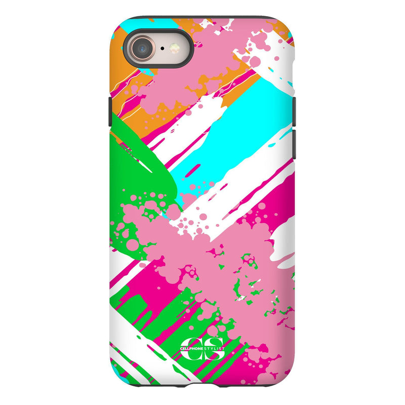 Graffiti Vibes - Bright (iPhone) - Phone Case iPhone 8 Tough Gloss - Cellphone Stylist