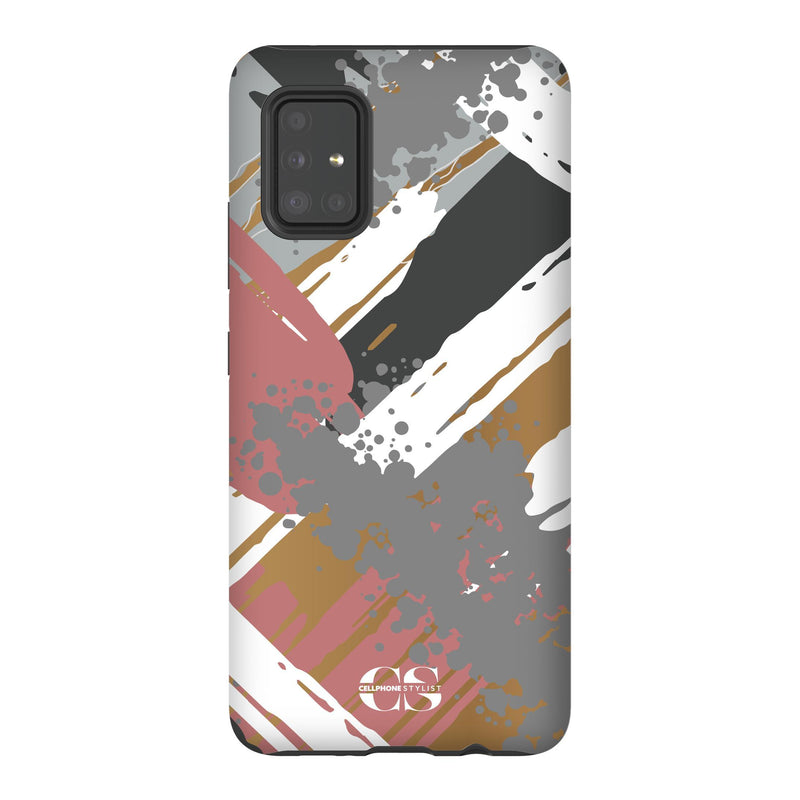 Graffiti Vibes - Chill (Galaxy) - Phone Case Galaxy A51 5G Tough Matte - Cellphone Stylist