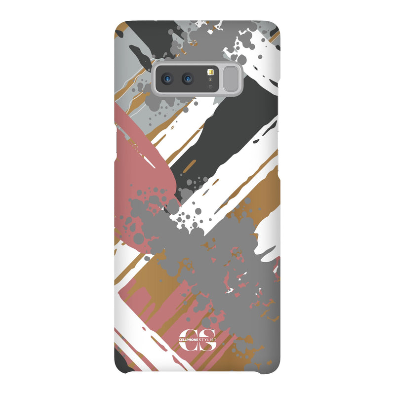 Graffiti Vibes - Chill (Galaxy) - Phone Case Galaxy Note 8 Snap Gloss - Cellphone Stylist