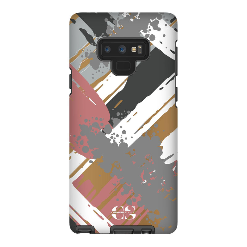 Graffiti Vibes - Chill (Galaxy) - Phone Case Galaxy Note 9 Tough Matte - Cellphone Stylist