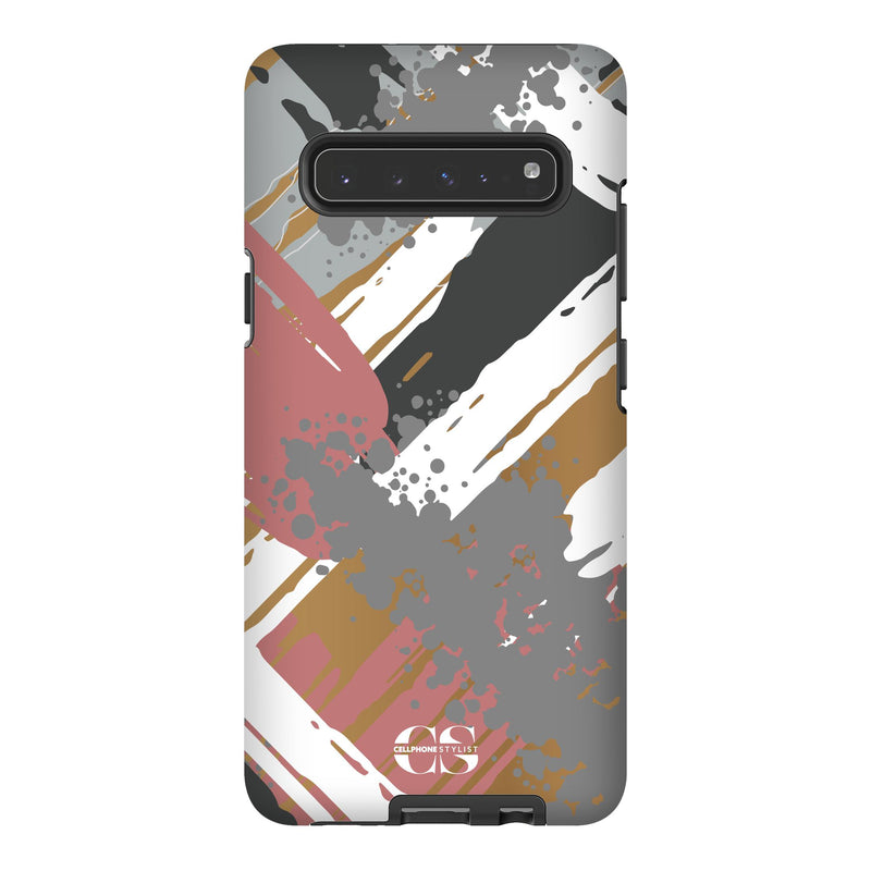 Graffiti Vibes - Chill (Galaxy) - Phone Case Galaxy S10 5G Tough Matte - Cellphone Stylist