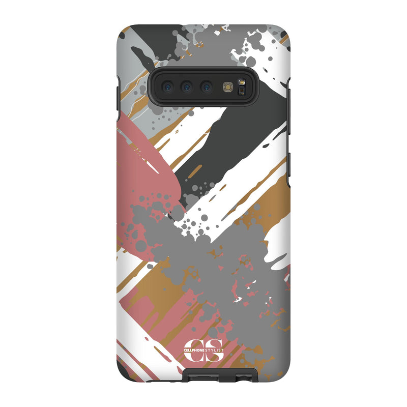 Graffiti Vibes - Chill (Galaxy) - Phone Case Galaxy S10 Plus Tough Gloss - Cellphone Stylist