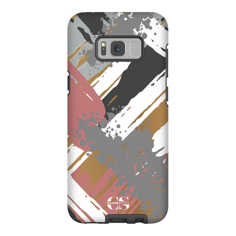 Graffiti Vibes - Chill (Galaxy) - Phone Case Galaxy S8 Plus Tough Matte - Cellphone Stylist
