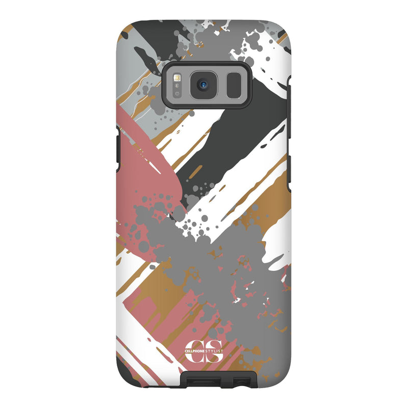 Graffiti Vibes - Chill (Galaxy) - Phone Case Galaxy S8 Tough Matte - Cellphone Stylist