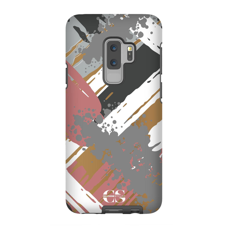 Graffiti Vibes - Chill (Galaxy) - Phone Case Galaxy S9 Plus Tough Matte - Cellphone Stylist
