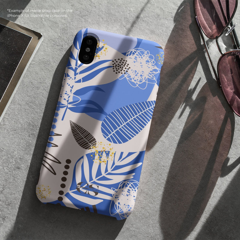 Leaf Me Alone - Blue (Galaxy) - Phone Case - Cellphone Stylist