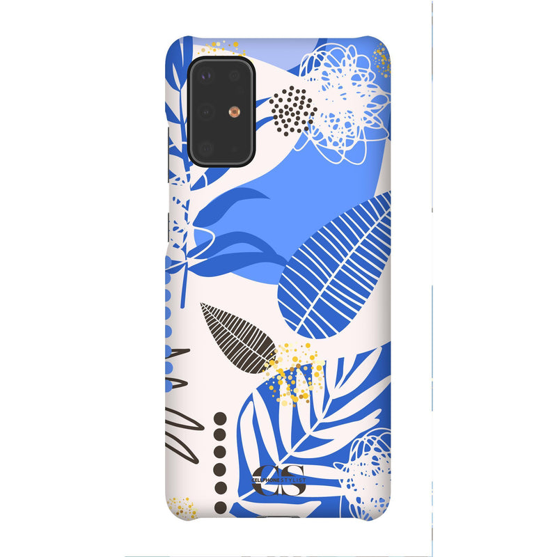 Leaf Me Alone - Blue (Galaxy) - Phone Case Galaxy S20 Plus Snap Gloss - Cellphone Stylist