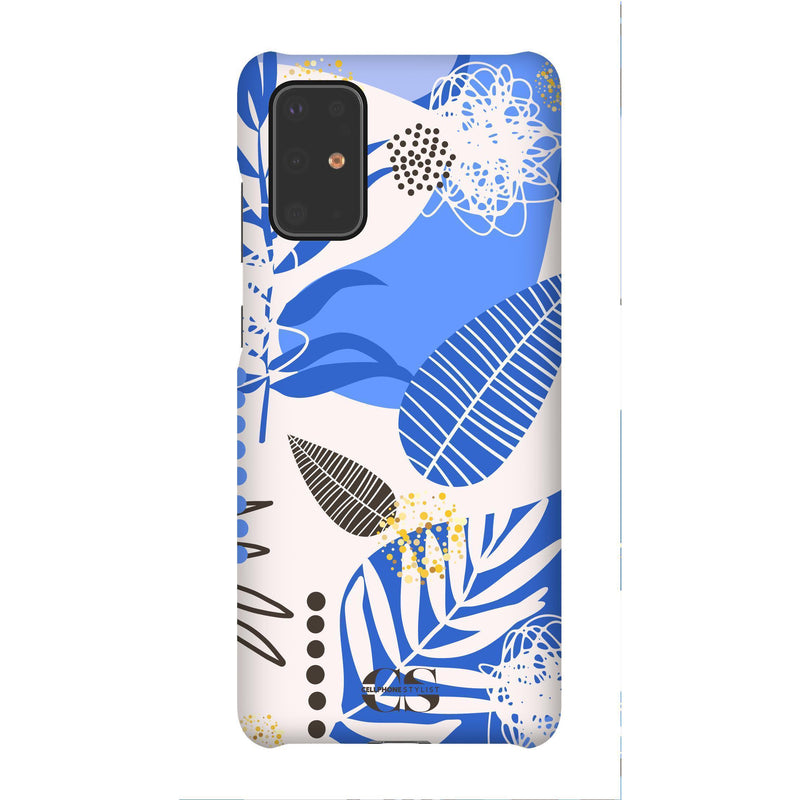 Leaf Me Alone - Blue (Galaxy) - Phone Case Galaxy S20 Plus Snap Matte - Cellphone Stylist