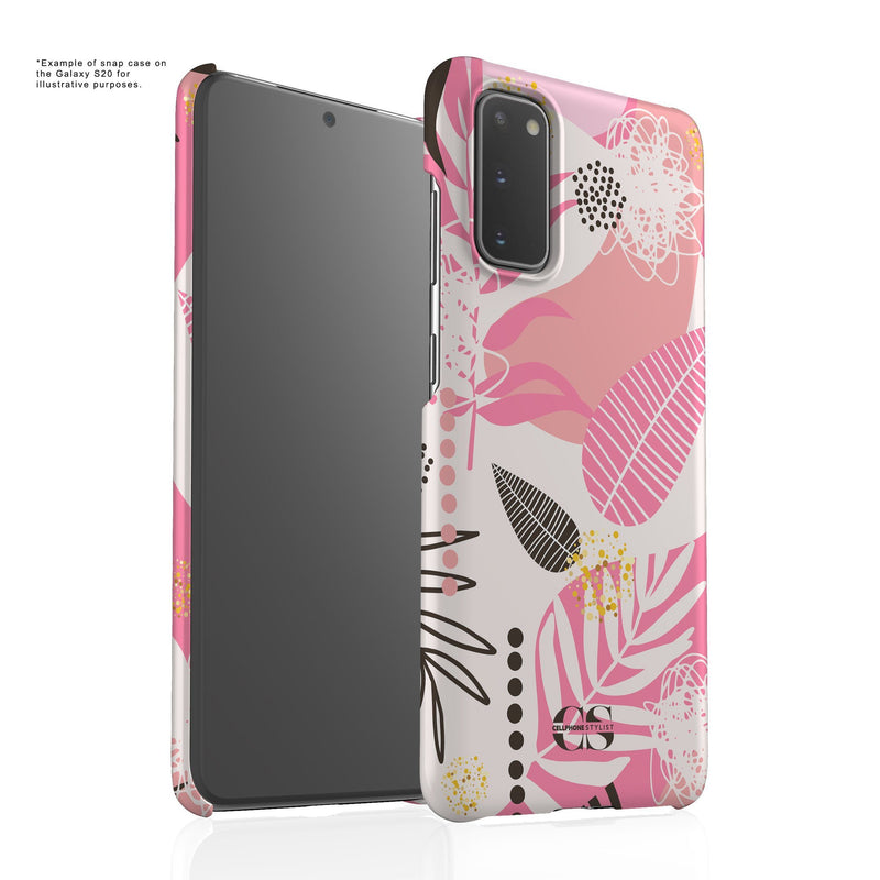 Leaf Me Alone - Pink (Galaxy) - Phone Case - Cellphone Stylist