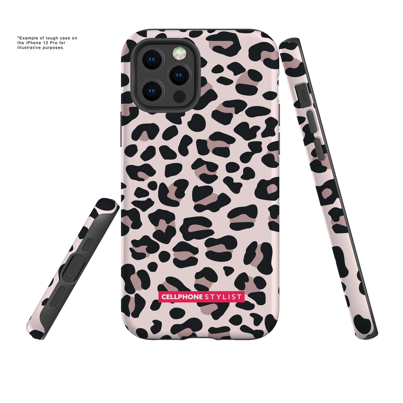 Leopard Print - Light Pink (iPhone) - Phone Case - Cellphone Stylist