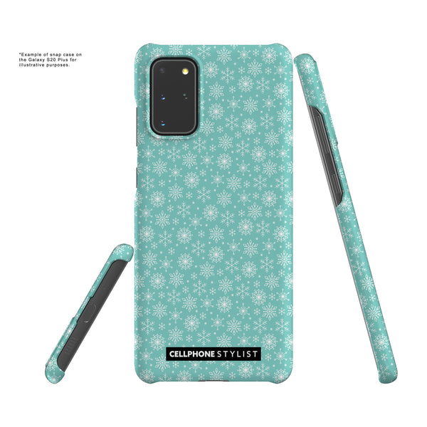 Merry Snowflakes (Galaxy) - Phone Case - Cellphone Stylist