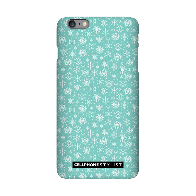 Merry Snowflakes (iPhone) - Phone Case iPhone 6 Pro Snap Gloss - Cellphone Stylist