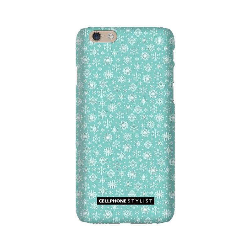 Merry Snowflakes (iPhone) - Phone Case iPhone 6 Snap Gloss - Cellphone Stylist