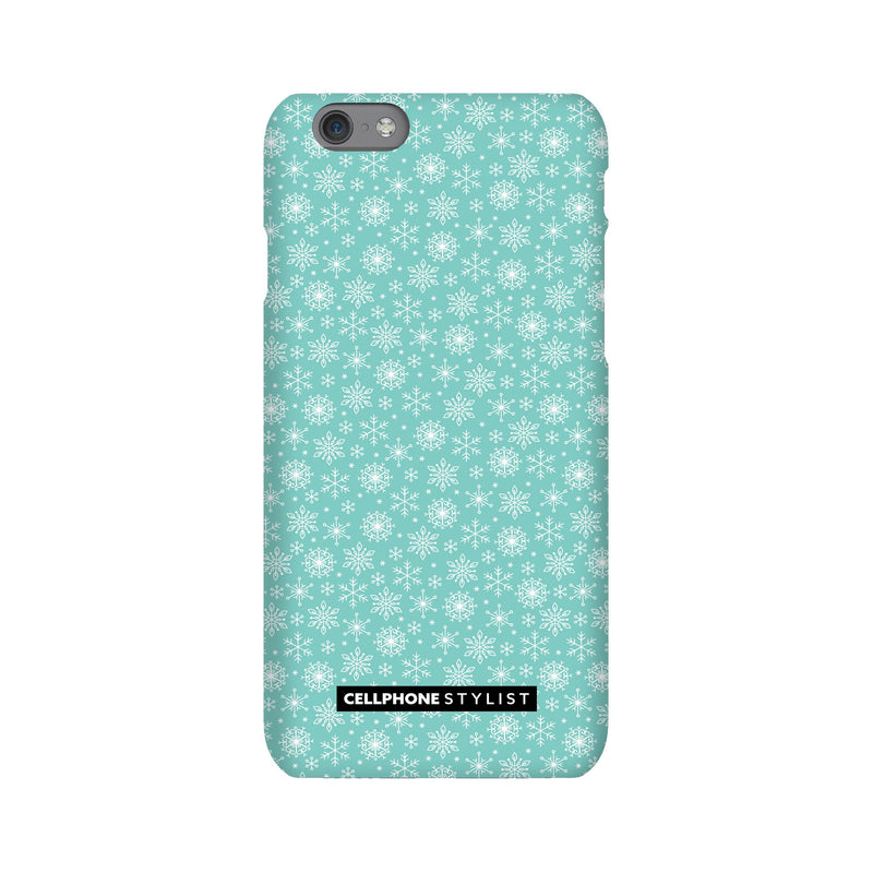 Merry Snowflakes (iPhone) - Phone Case iPhone 6S Snap Gloss - Cellphone Stylist