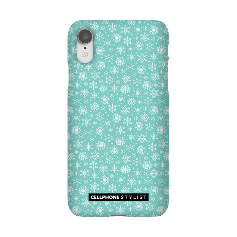 Merry Snowflakes (iPhone) - Phone Case iPhone XR Snap Matte - Cellphone Stylist