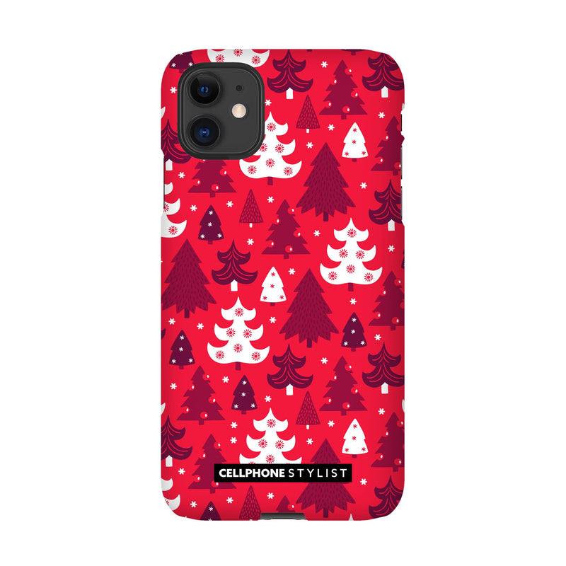 Oh Tannenbaum! (iPhone) - Phone Case iPhone 11 Snap Matte - Cellphone Stylist