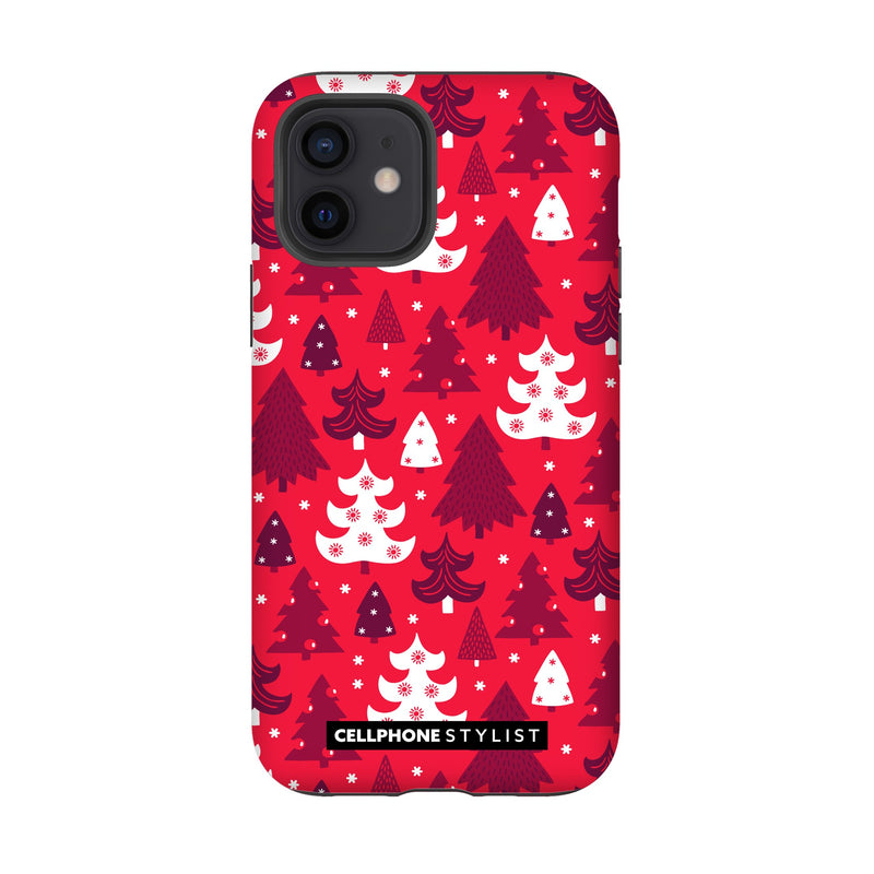 Oh Tannenbaum! (iPhone) - Phone Case iPhone 12 Tough Gloss - Cellphone Stylist