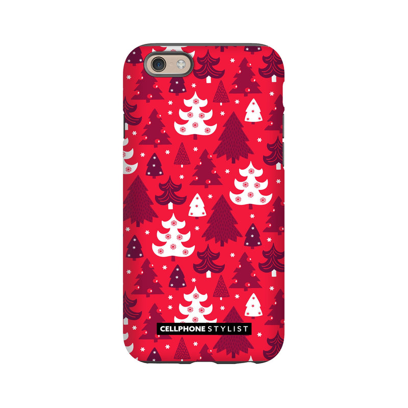 Oh Tannenbaum! (iPhone) - Phone Case iPhone 6S Tough Matte - Cellphone Stylist