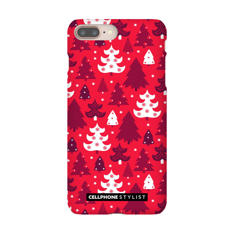 Oh Tannenbaum! (iPhone) - Phone Case iPhone 8 Plus Snap Matte - Cellphone Stylist