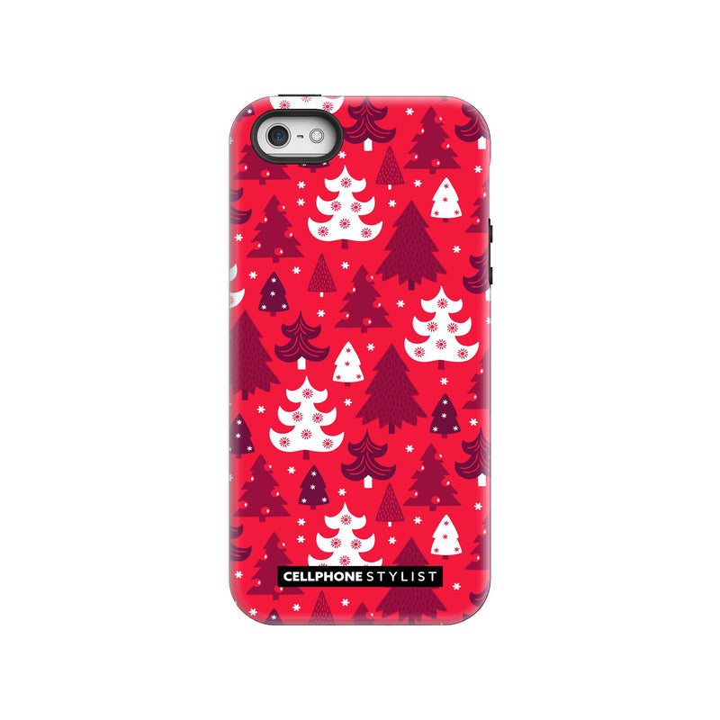 Oh Tannenbaum! (iPhone) - Phone Case iPhone SE Tough Gloss - Cellphone Stylist